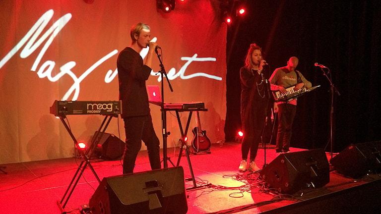Maj Monet live. Foto: Johan Gustafsson/Sveriges Radio
