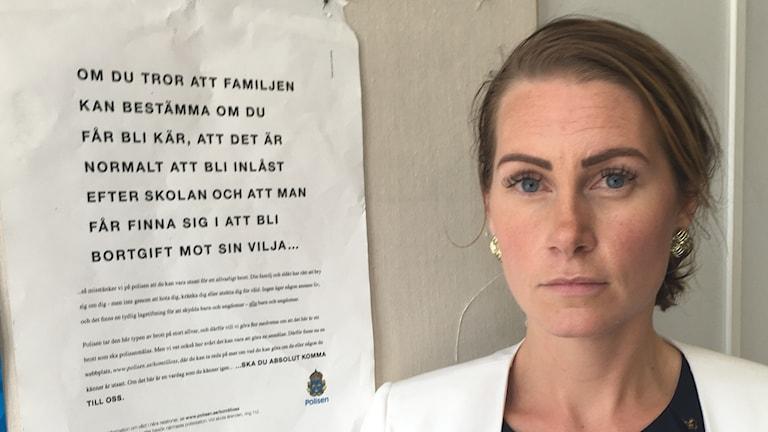 Desirée Blichfeldt, Norrköpingspolisen