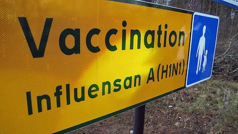Vaccinering mot svininfluensan 2009.
