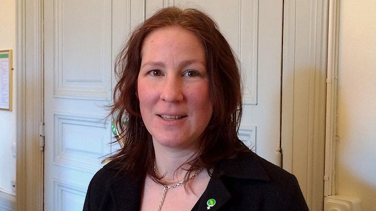 Cecilia Gyllenberg Bergfast (MP), ordförande kultur- och fritidsnämnden i Linköpings kommun.