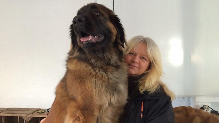 IDhunden Skottis tillsammans med matte Pirre Andersson