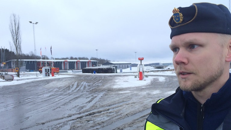 Fredrik Larsson, polisen.