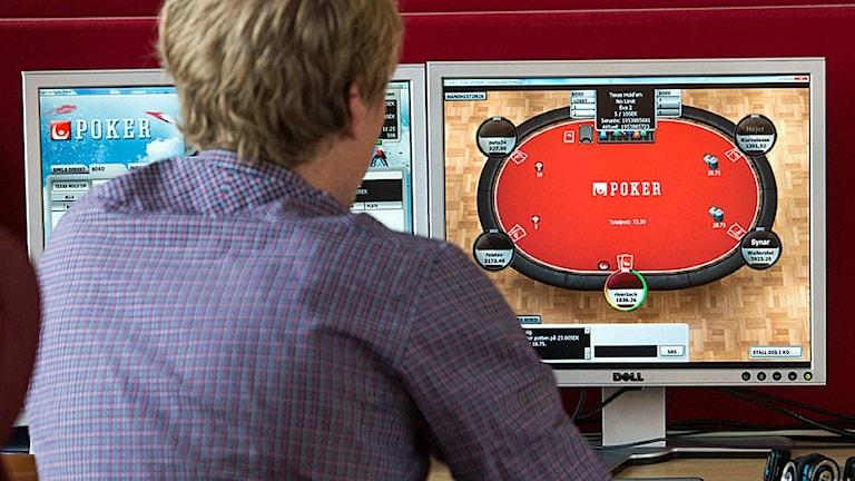 Nätpoker på Svenska spels sajt