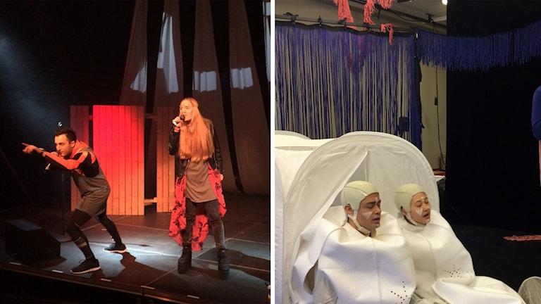 Två föreställningar på Ung scen Öst