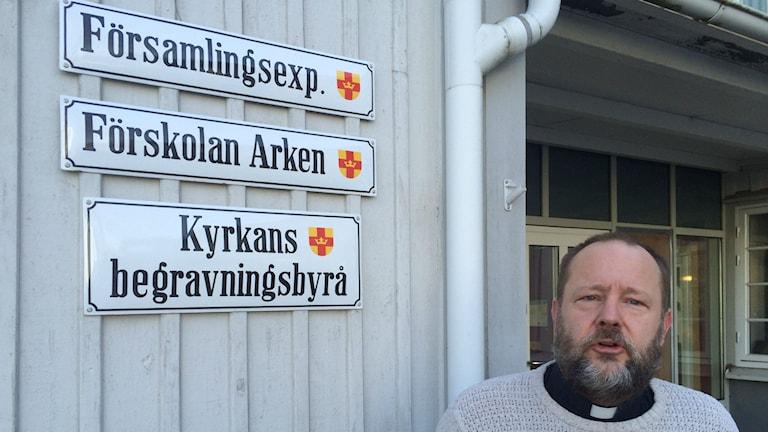 Magnus Svensson, Svenska kyrkan.