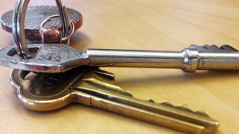 En nyckelknippa