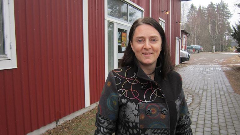 Jenny Johansson på arbetsmarknadsenheten i Ydre.