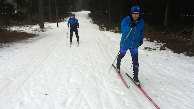 Staffan Gustavsson och Esa Tuomi