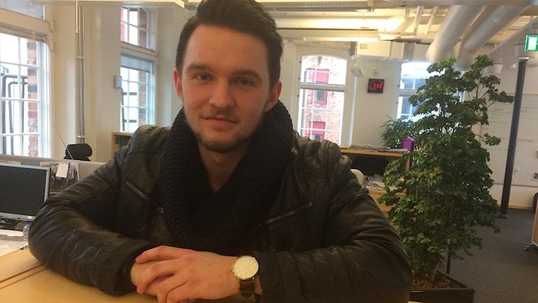 """Mårten Granlund har startat projektet """"Under Kevlaret""""."""