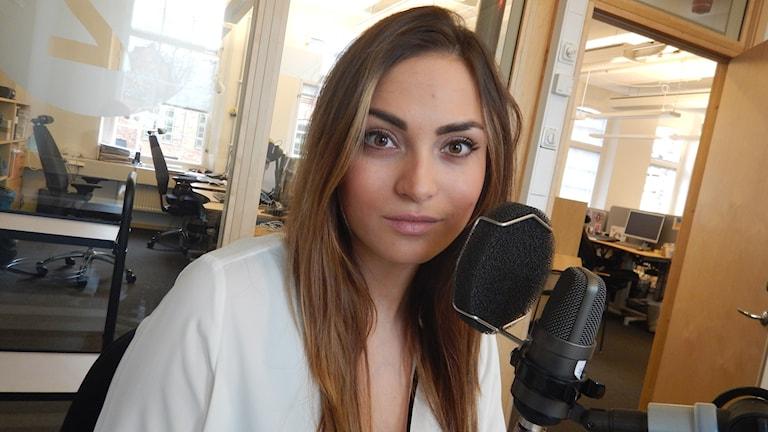 Nadia Bednarek på Byrån mot diskriminering i Norrköping.