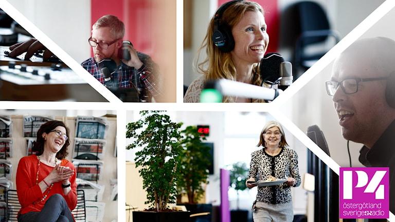 Collage P4 Östergötland