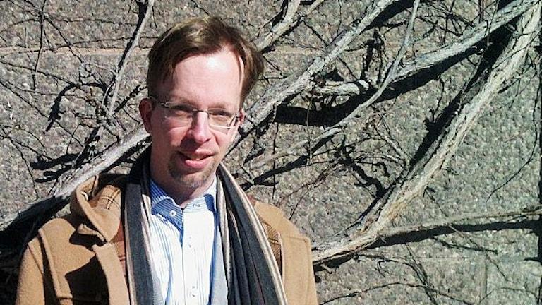 Uppdragssläktforskaren Magnus Bäckmark.