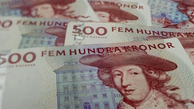 500-kronorssedlar