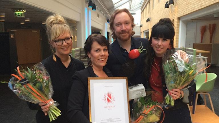 Christina Eveborn, Erika Wessbo, Lars Winnerbäck och Lydia Halldorf
