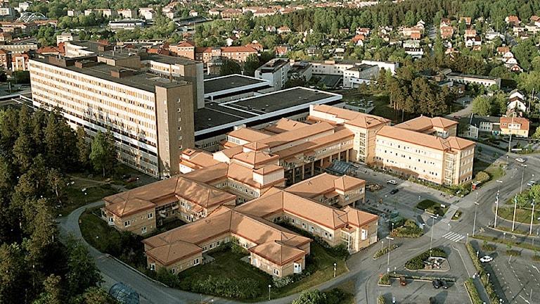 Universitetssjukhuset i Linköping.