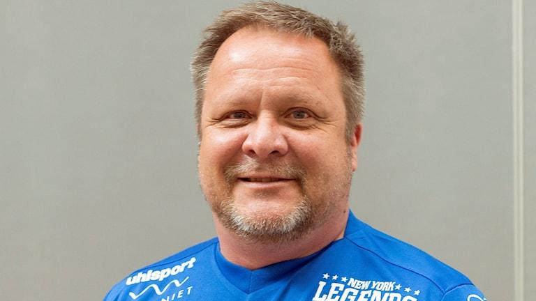 Åtvidabergs FF:s tränare Roar Hansen.