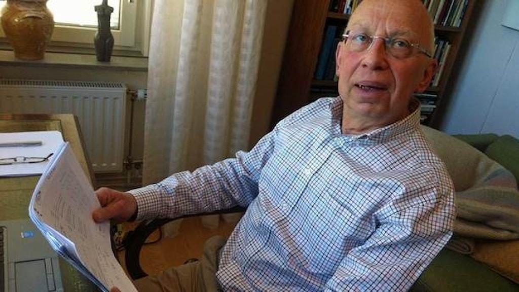 Johannes Knutsson, professor i polisforskning vid Polishögskolan i Oslo.