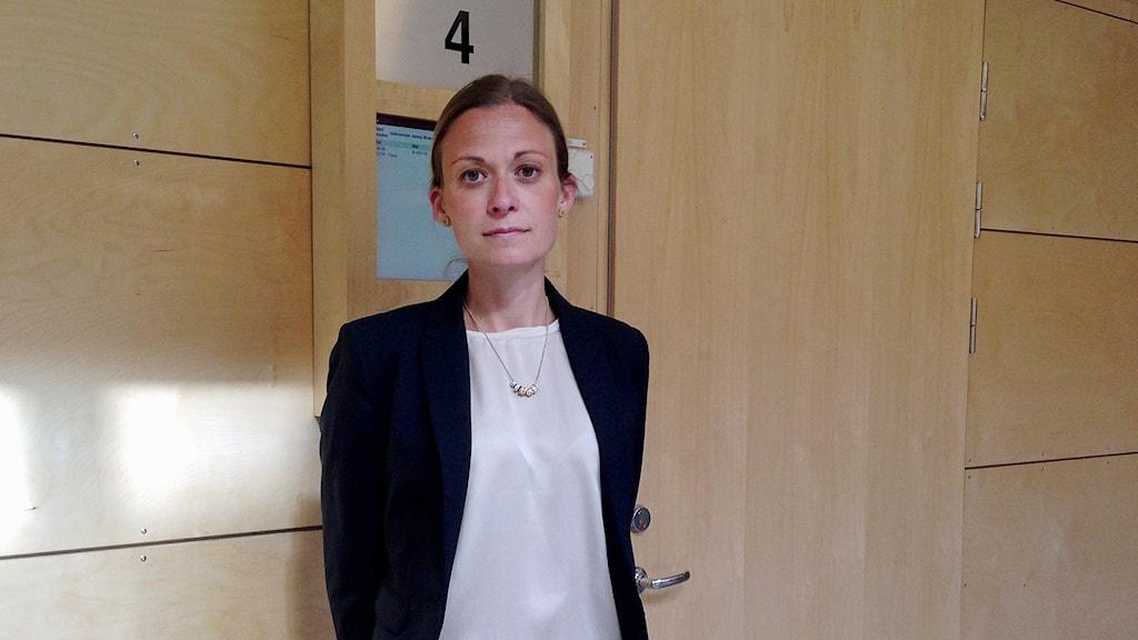 Kammaråklagare Malin Axelsson.