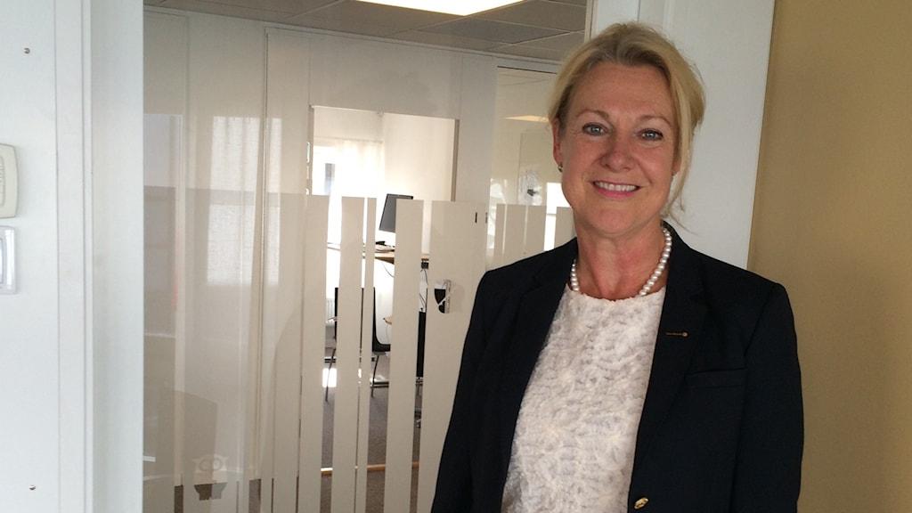 Gunilla Brynell Johansson, tillträdande VD för Vätternrundan.