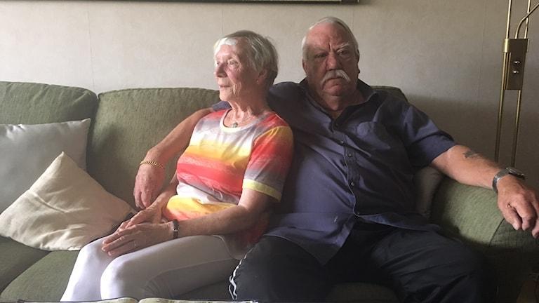 Sylvia och Kenneth Dahlin