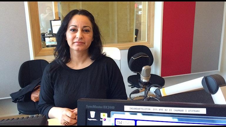 Maha Eichoue är utvecklingsledare på länsstyrelsen.