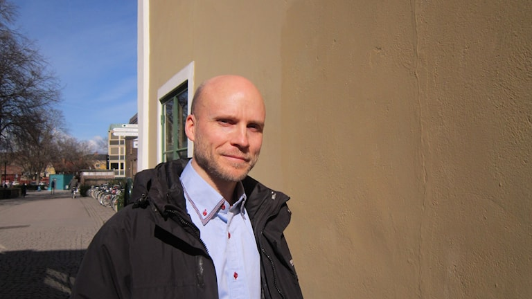 Förhandlare Benny Andersson på Hyresgästföreningen i Linköping.