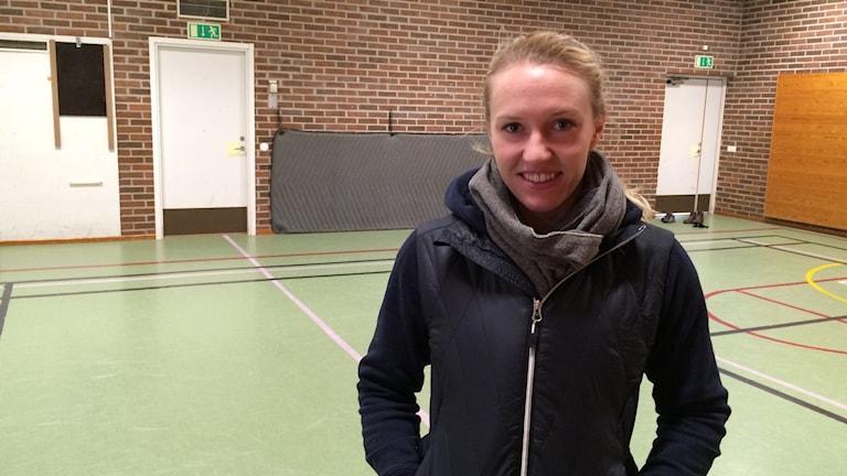 Maria Linder lärare i ämnet idrott och hälsa