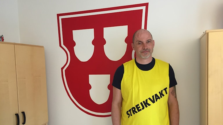 Nicklas Ringman är ombudsman på måleriförbundet