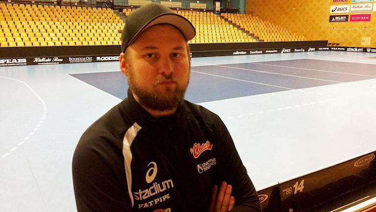 Johan Astbrant, tränare i Libk.