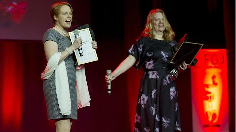 Tina Enström och Jenny Widell