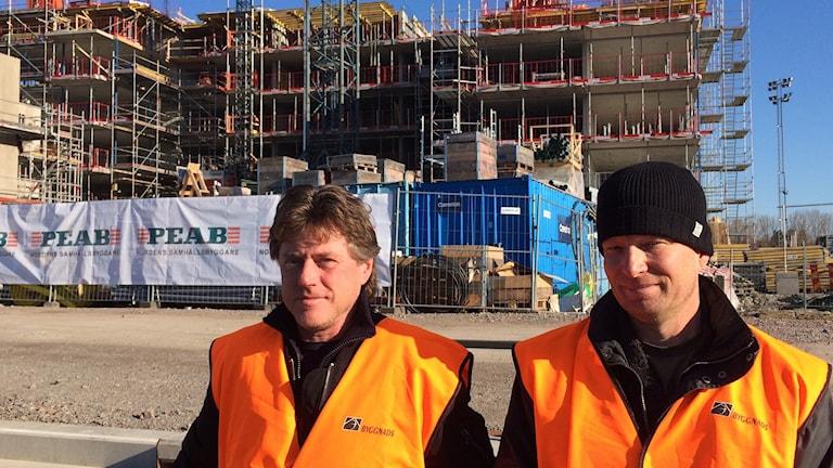 Bo Sjögren och Ola Ahlsèn