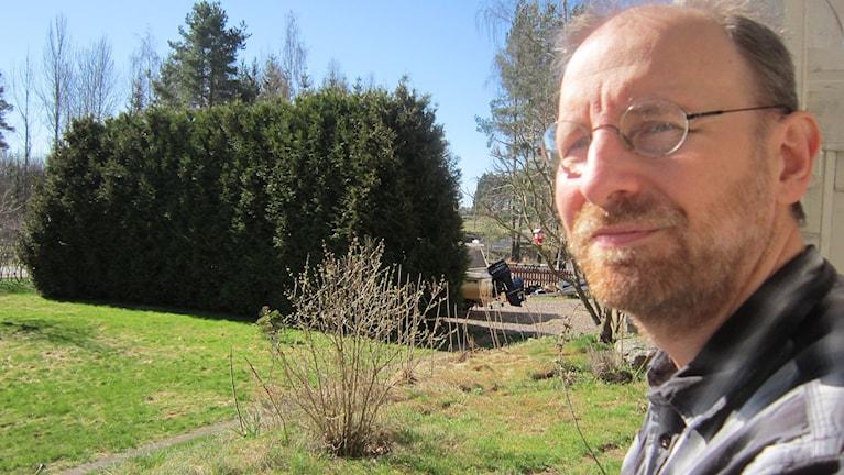 Clas Tegenfeldt, tf ordförande i Elöverkänsligas riksförbund.
