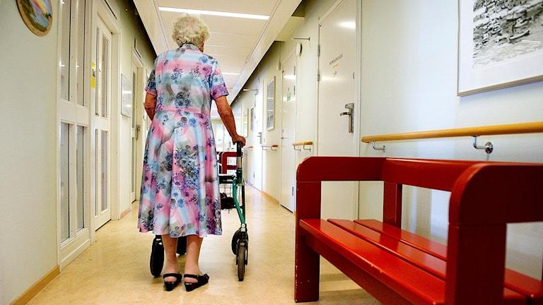 En åldrande befolkning ställer nya krav på vården
