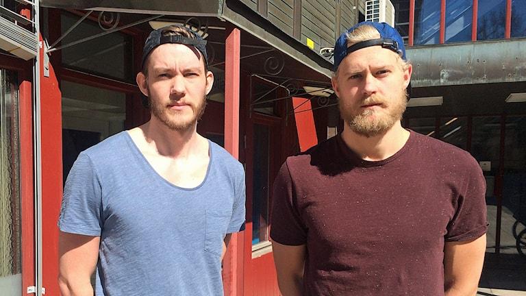 Martin Larsson och Erik Sundberg i LVC.