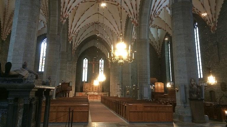 Vadstena klosterkyrka.