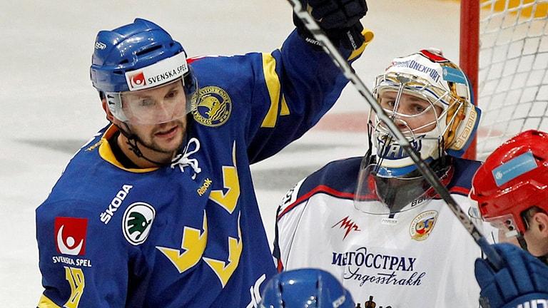 Niclas Bergfors i Tre kronor 2011.