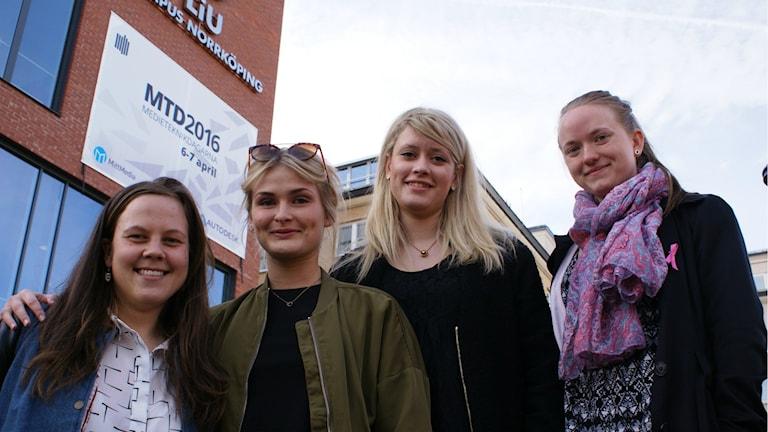 Josephine Sandqvist, Emelie Olsson, Olivia Rehn och amanda larsson