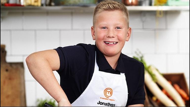 Jonathan Öhlund tävlar i TV-programmet i Sveriges yngsta mästerkock.