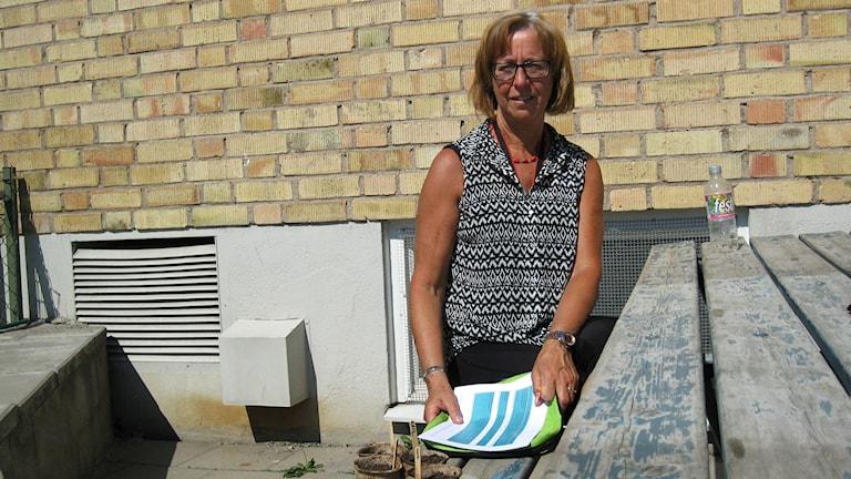 Lisbeth Karlsson, fritidspedagog på Kättinge skola.