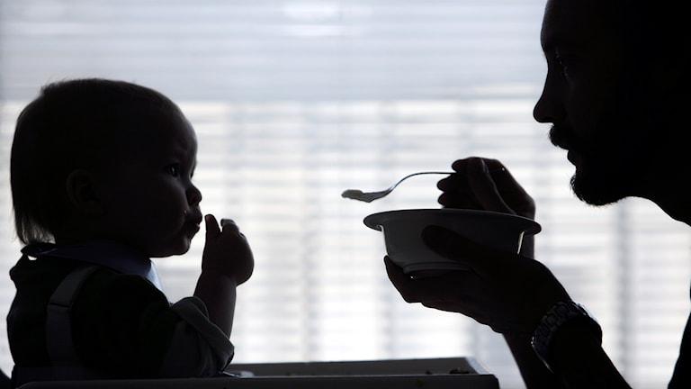 Östergötlands pappor tar ut knappt 26 procentav alla föräldradagar i länet.
