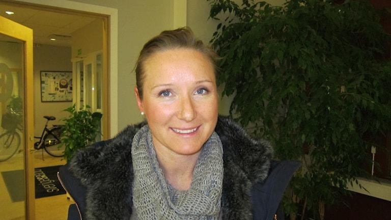 Maria Hagström, klubbdirektör i LFC.