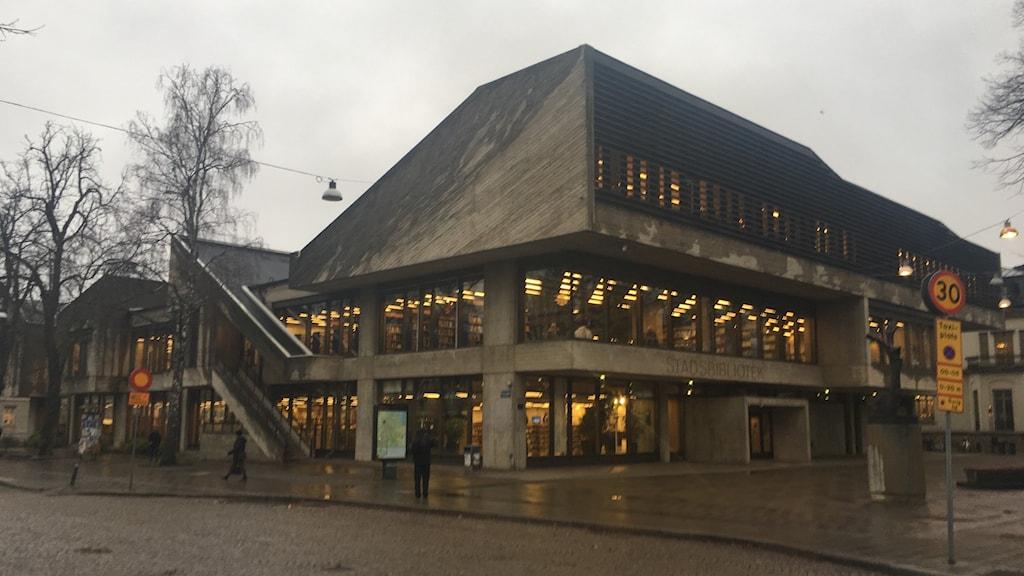 Norrköpings stadsbibliotek.