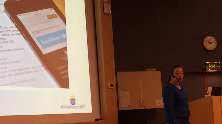 Helena Axestam huvudsekreterare för utredningen av nationell kvalitetsplan för äldreomsorgen