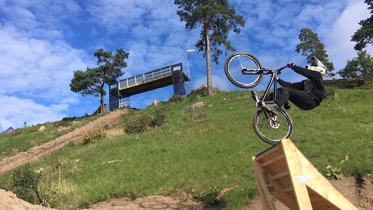 Motla, cykellopp, cykel mountainbike