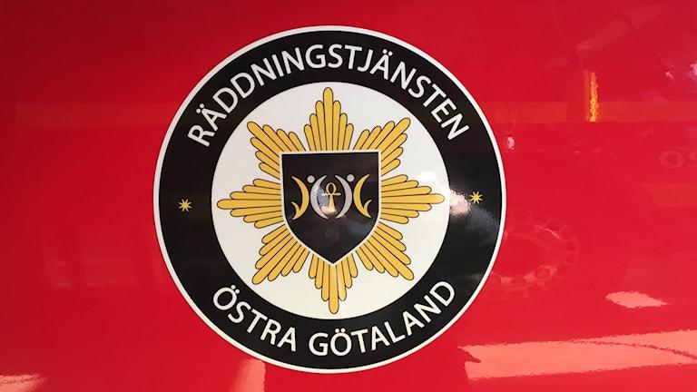 Räddningstjänsten Östra Götalands logotyp.