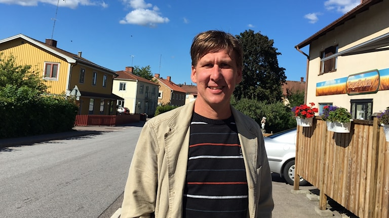Mattias Nilsson, utvecklings chef Kinda kommun