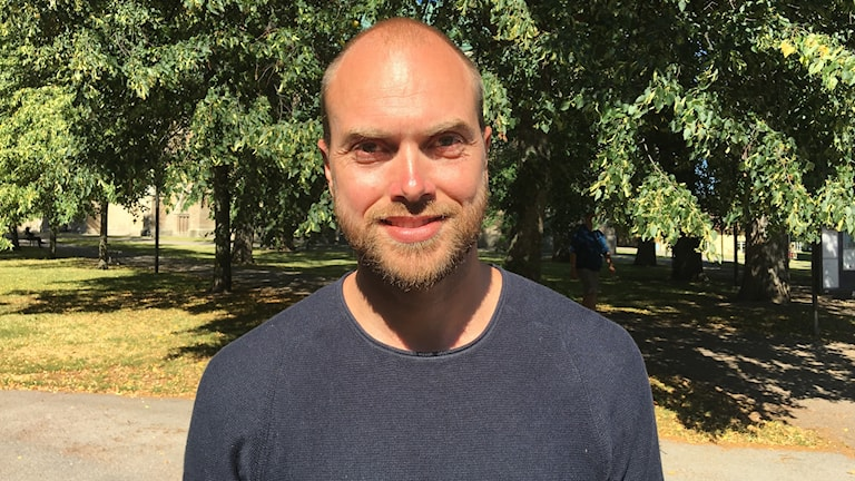 Johan bengtsson är grundare av Omberg runt, ett nytt 28 kilometerslopp med premiär på lördag.