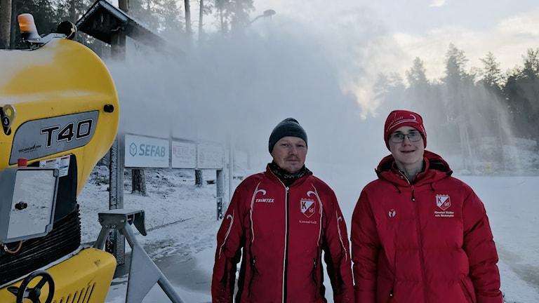 Roger Strömqvist och Ture Bergqvist Kimstad GOIF