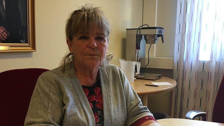 Britt-Marie Johansson (S) kommunstyrelseordförande i Boxholm.