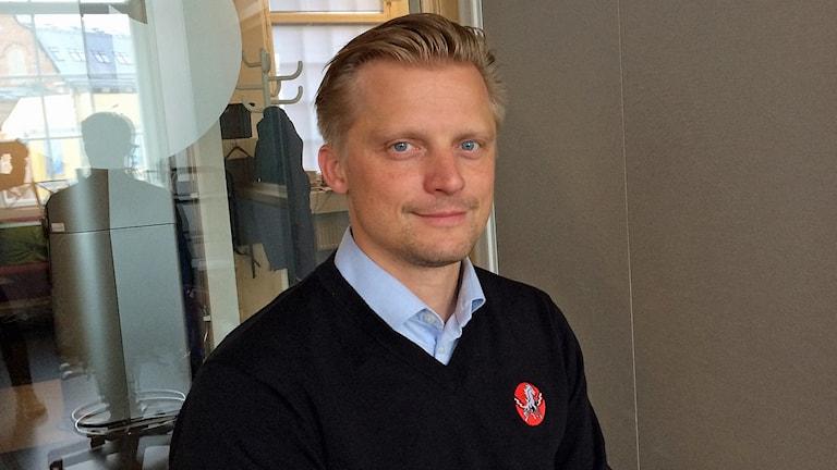 Fredrik Jensen, vd i Vita Hästen.